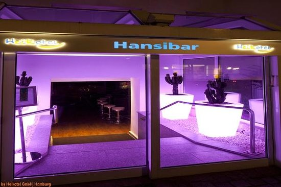 Heikotel - Hotel Am Stadtpark: Hansibar