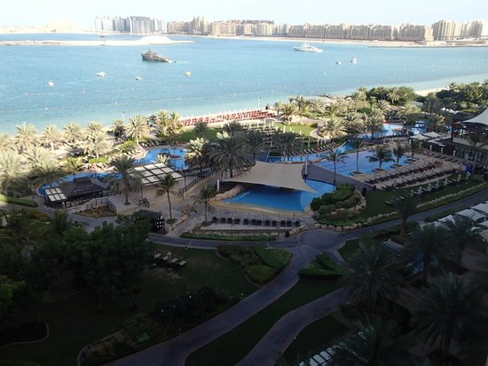 The Westin Dubai Mina Seyahi Beach Resort & Marina:                   View from room 706