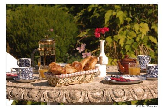 La Renardais : On the Terrace
