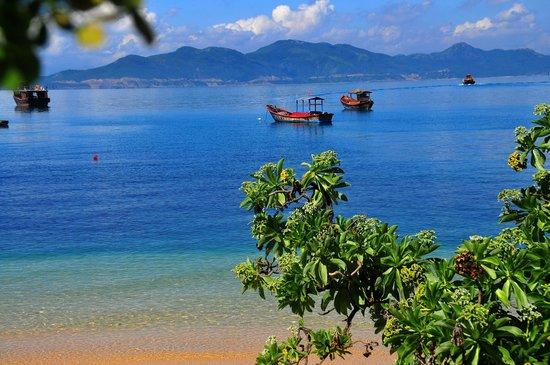 Six Senses Ninh Van Bay: Meer vor der Beach Villa