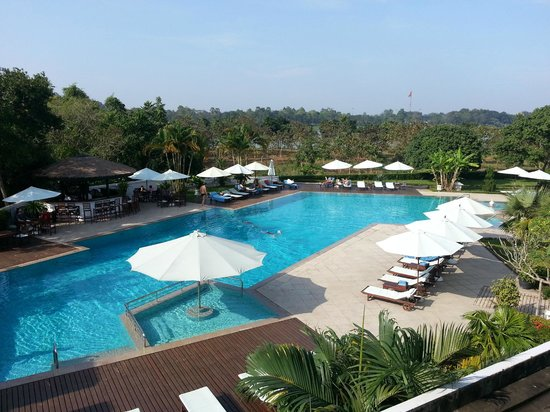 La Residence Hue Hotel & Spa:                   Super view from our room