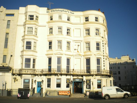 Hostelpoint-Brighton: The hostel.