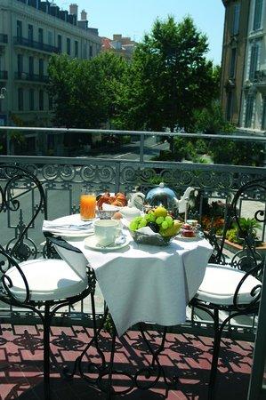 Hotel  Le Cavendish: Rotunda terrasse