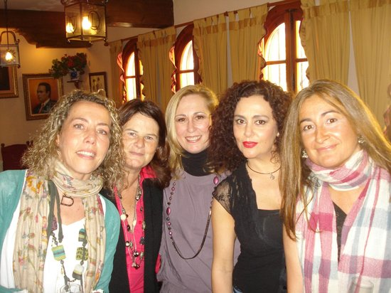 Grupo amigas en Tendido 6