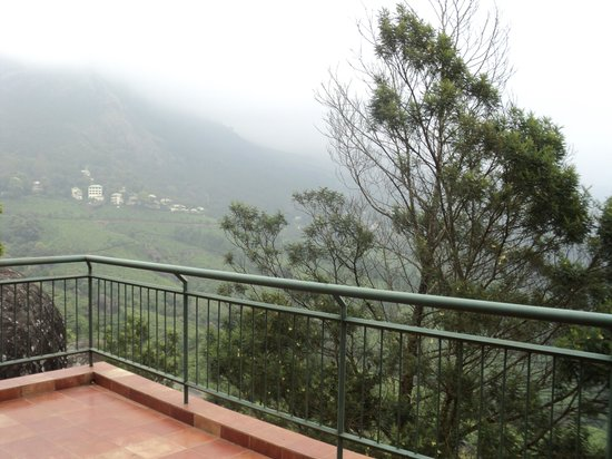 Ayur County Resorts: View from balcony