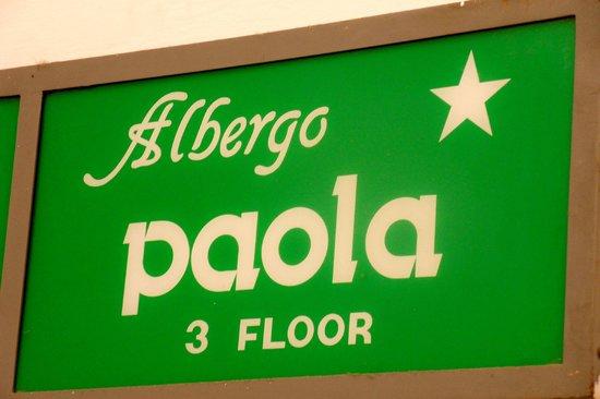 Albergo Paola: logo