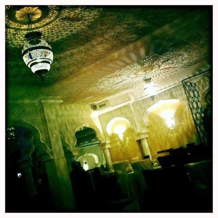 Le Palais Bahia : Une des salles