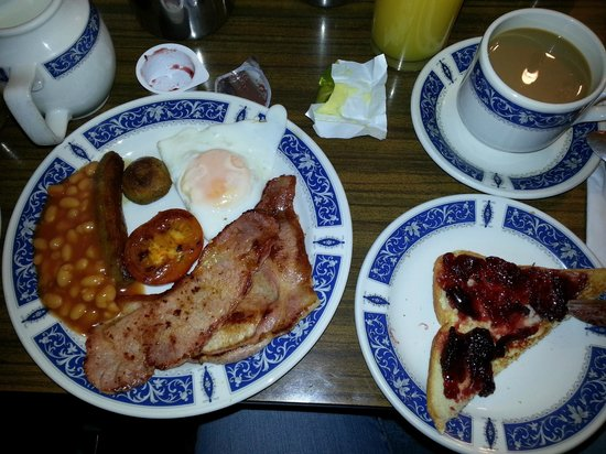 Regency House Hotel : english breakfast