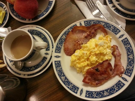 Regency House Hotel : english breakfast - 2°