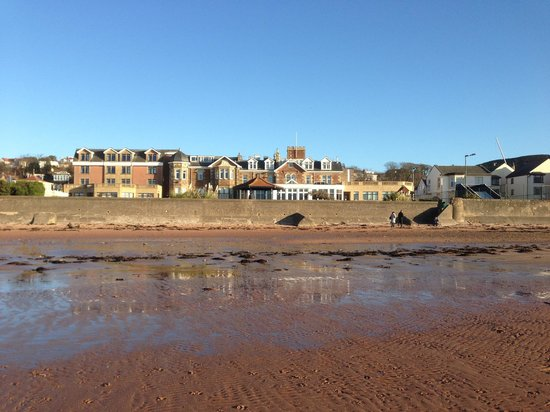 Seamill Hydro:                   View from the beach