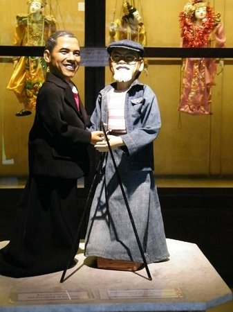 ‪‪Setia Darma House of Mask and Puppets‬: American President & House Puppets President