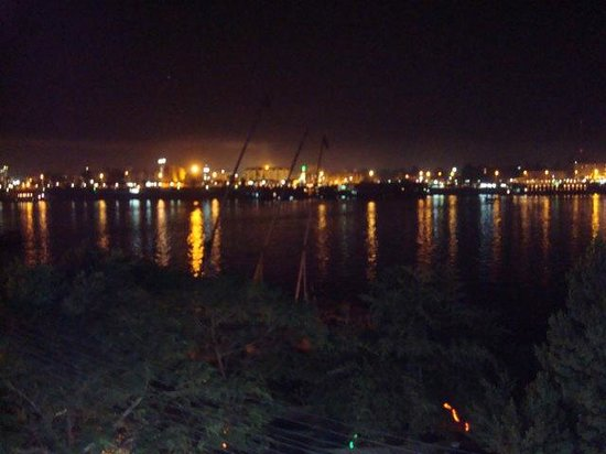 Nightview from Nile Flowers, first floor.