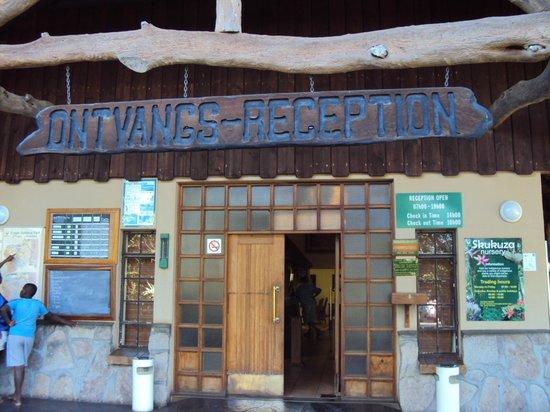 Skukuza Rest Camp :                   Office