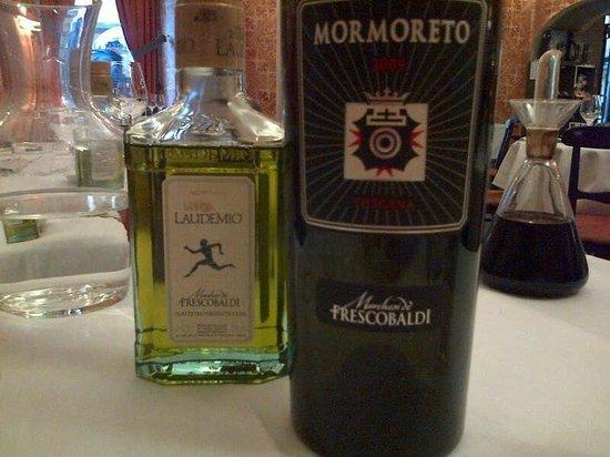 Ristorante & Wine Bar dei Frescobaldi : Laudemio e Mormoreto 2009 due capolavori