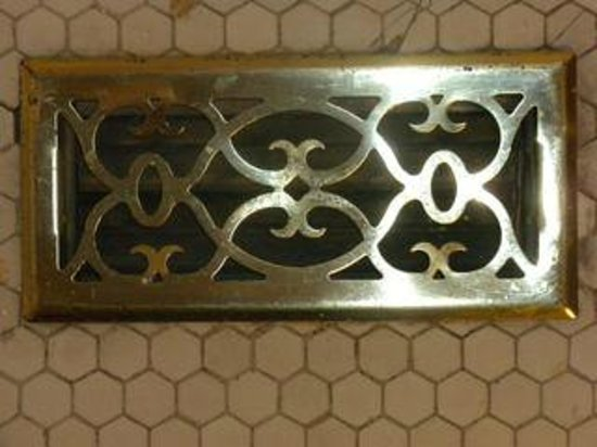 MarQueen Hotel :                   Brass air vent covers