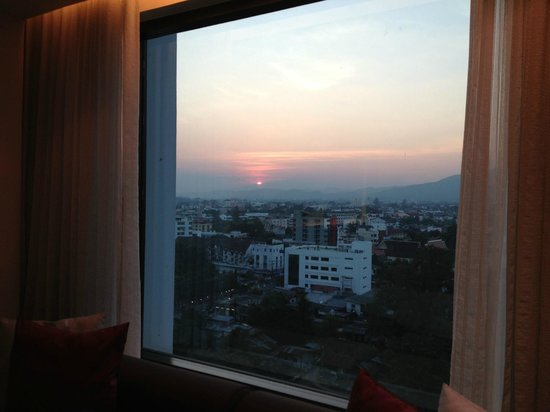 Le Meridien Chiang Mai: view from room