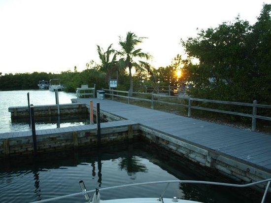 Bahia Honda State Park Campgrounds: Some campsites have boat slips