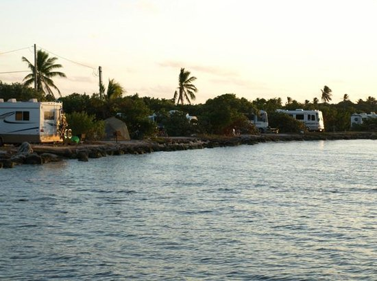 Bahia Honda State Park Campgrounds: Ocean Front Campsites