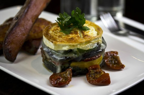 The Step Inn: Roasted Vegetables & Goats Cheese