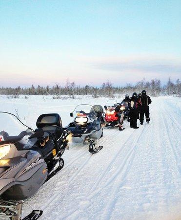 Fell Trek Rauhala: motoslitta