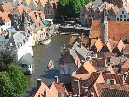 Gresham Belson Hotel: Bruges from the tower