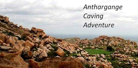 Thrillophilia Anthargange Adventure: View from one of the caves exit