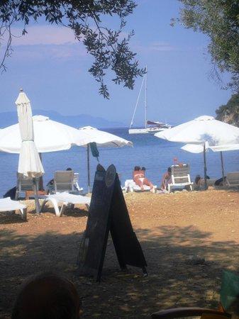 Ithaki, Grækenland: Dal bar in Filiatro beach