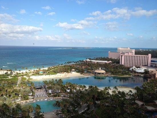 Atlantis, Royal Towers, Autograph Collection:                   view from our room 20-566