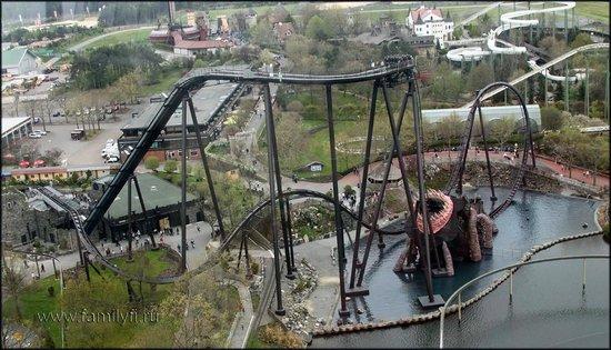 Heide-Park : вид с озорной башни