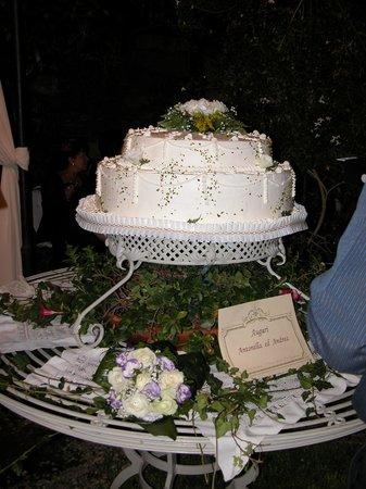 La Casa del Grecale : torta nuziale