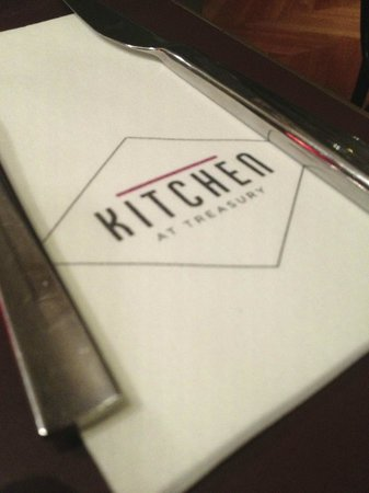 Kitchen at Treasury: Kitchen