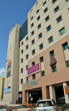 Citymax Hotels Bur Dubai: Hotellet ved indgangen