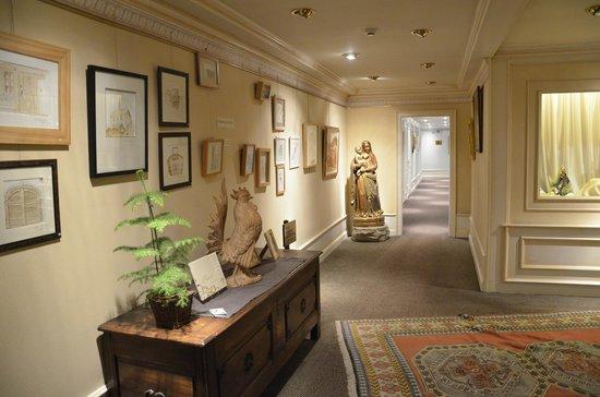 Hostellerie La Cheneaudiere - Relais & Chateaux: Hôtel accès chambre à l'étage
