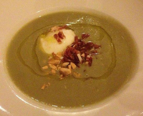 Restaurante Sabores:                   Artichoke Soup