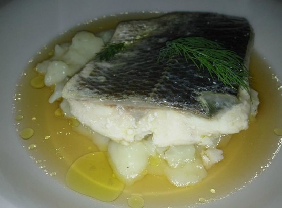 Restaurante Sabores:                   Sea Bass