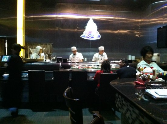 Sake: The Sushi bar
