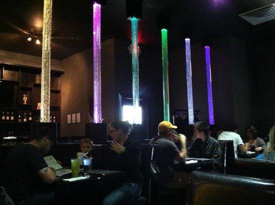 Sake: The dining area