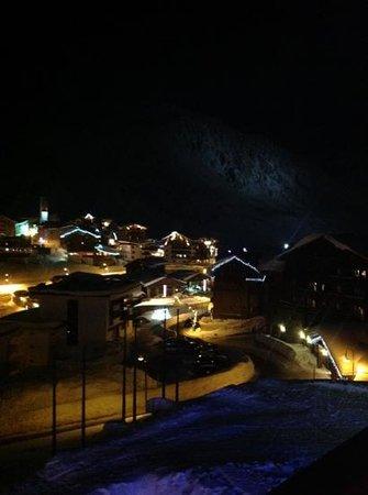 Hotel Village Montana : vue depuis le balcon