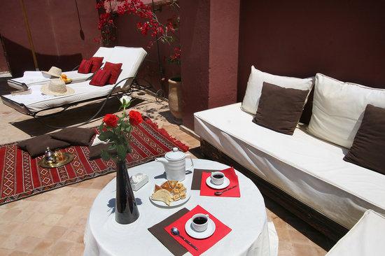Riad Les 5 Soeurs: Une Terrasse