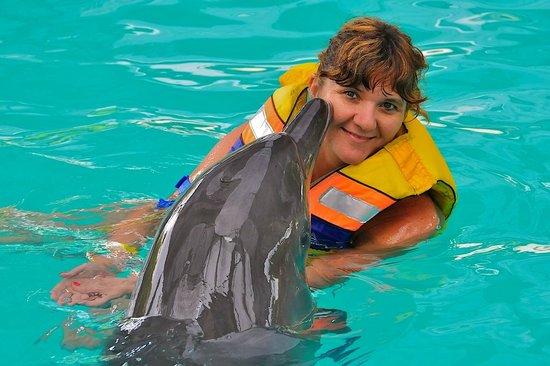 The Zala Villa Bali:                   Kiss by dolphin Jack