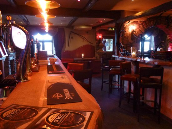 The Stagger Inn: Our bar