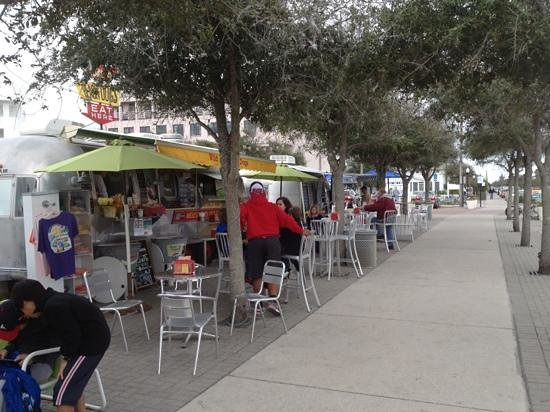 The Meltdown On 30a Seaside Food Truck Row