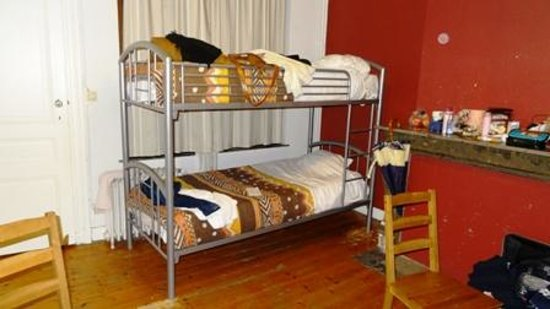Brussels Louise Hostel:                   6 bed female room