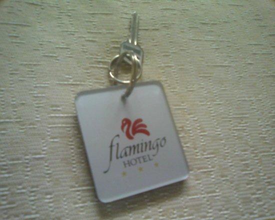 Flamingo Hotel : llave