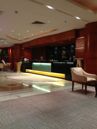 Executives Olaya Hotel: The reception