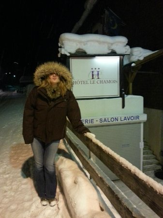 Hotel Le Chamois: A cold night!