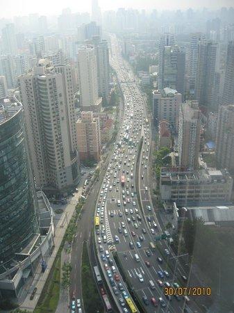 The Longemont Shanghai: vista dalla camera