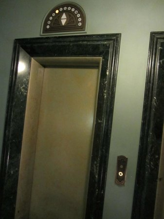 Fort Garry Hotel: Old style elevators