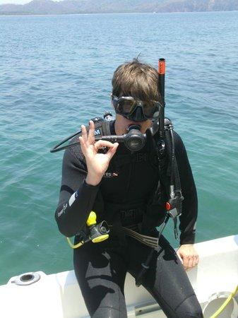 Dive Academy Ballena Blanca : lets go dive