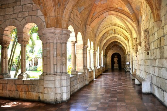 Cloisters Of The Monastery Of Saint Bernard De Clairvaux